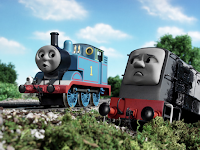 gambar kartun Thomas & Friends: Day of the Diesels