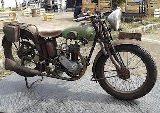 Dijual JAP Motobecane 1927 .250cc