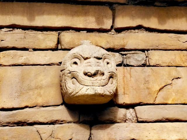 Chavin de Huantar, cabeza clava Chavin de Huantar