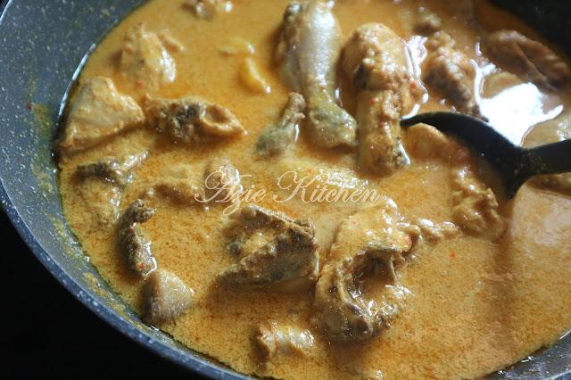Ayam Masak Lemak Lockdown