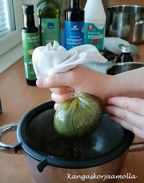 Nokkossaippua resepti