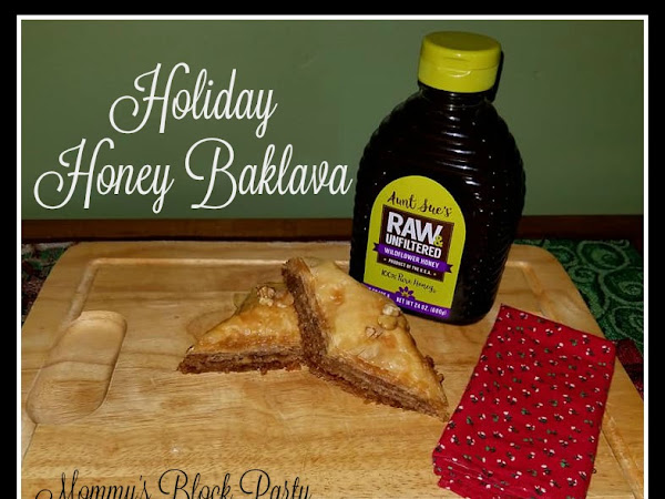Holiday Baklava for Your Festive Gathering: Step by Step Tutorial & #Recipe