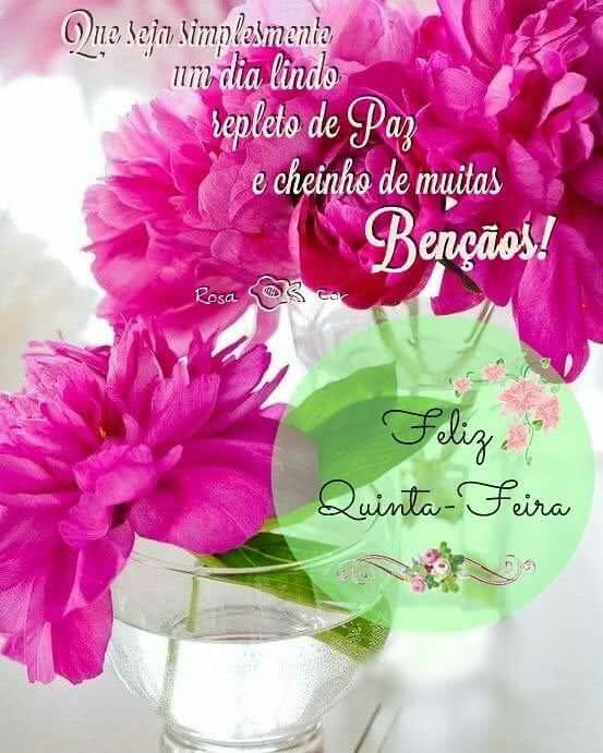 Imagens De Bom Dia Feliz Quinta Feira Para Meus Amigos