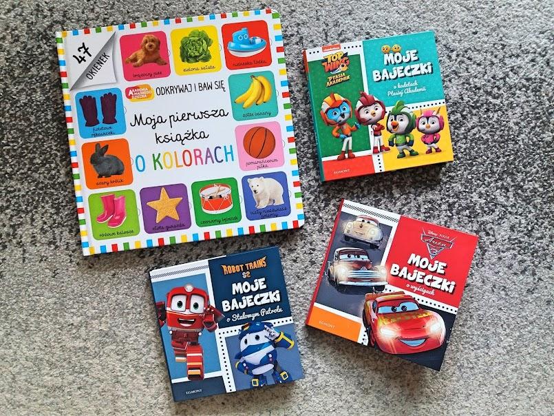 Najnowsze nabytki książkowe moich dzieci