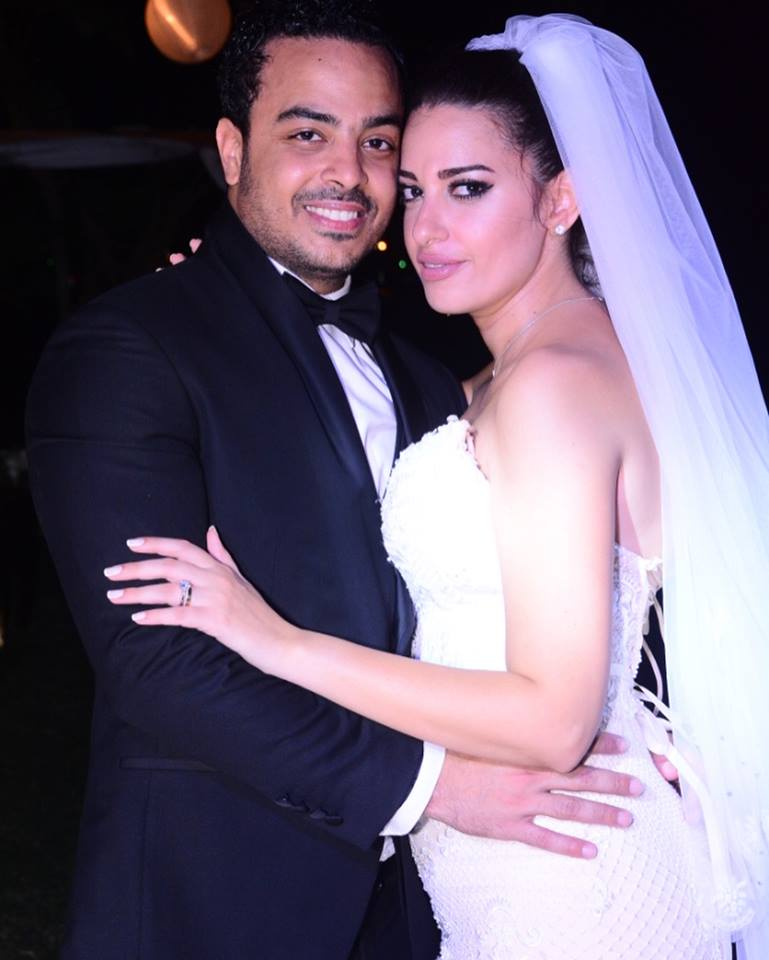 زواج ملكة جمال مصر السابقة  الهام وجدي