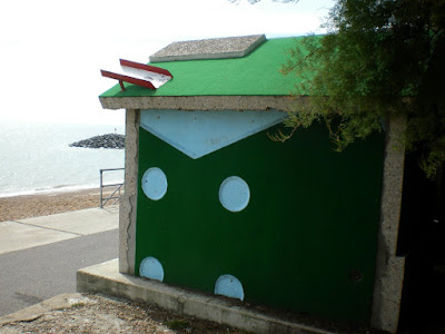 18 Holes Crazy Golf art installation created by Richard Wilson in Folkestone