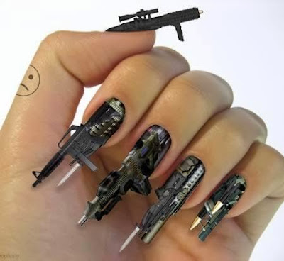 guns nail designs