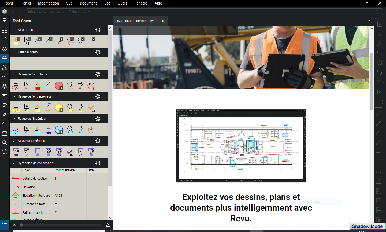 تحميل برنامج ممتاز لإنشاء ملفات PDF وترميزها وتحريرها Bluebeam Revu eXtreme 2019