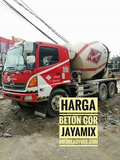 Beton Cor JAYAMIX MURAH Jakarta 2018