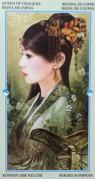 Mother Tarot - Queen of Cups- Japanese Tarot