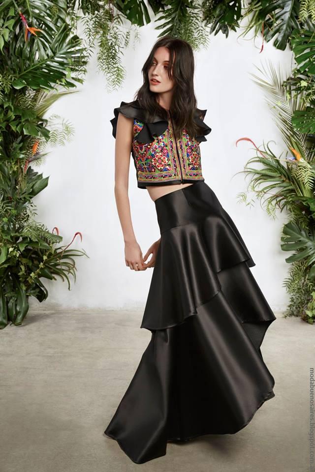 Moda primavera verano 2017: Vestidos, faldas, blusas y pantalones de moda 2017. María Cher Colecición primavera verano 2017.