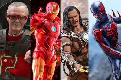 San Diego Comic-Con 2020 Exclusive Marvel Sixth Scale Figures by Hot Toys x Sideshow Collectibles