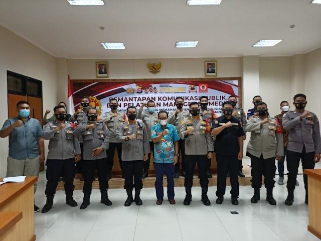 """Safari Pelatihan """"Jurnalisme Kepolisian"""" Berakhir di Polresta Tangerang"""
