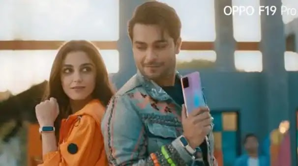 OPPO setting trends in its next TVC Starring Asim Azhar and Maya Ali featuring F19 Pro