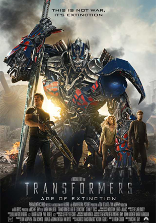 Transformers: Age of Extinction 2014 BRRip 720p Dual Audio In Hindi English