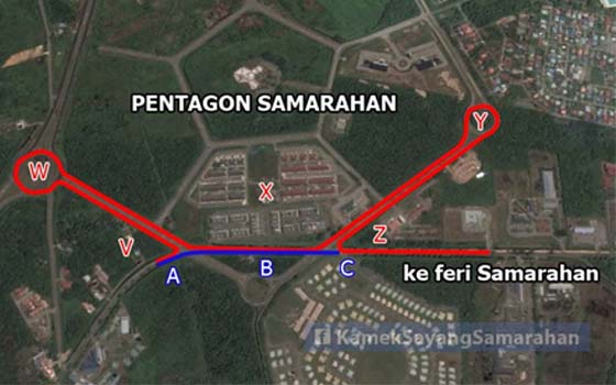 'Pentagon Samarahan' Didakwa Menyusahkan Pemandu