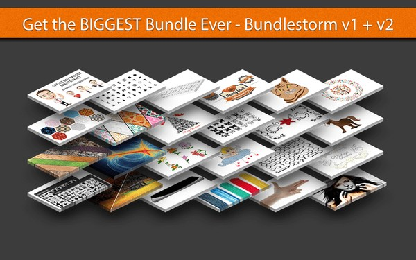 Bundle Storm Graphics Design V1 And V2