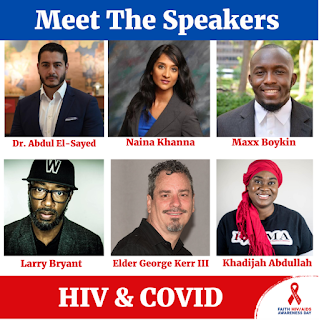 Get out and Vote: HIV & COVID-19 are on the Ballot
