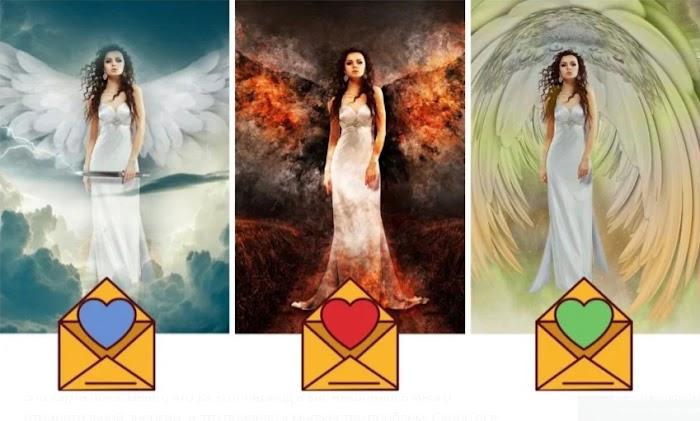 Получите сообщение от своего ангела-хранителя