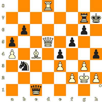 Les Blancs jouent et matent en 3 coups - Benjamin Finegold vs E Knoppert, Anvers, 1991