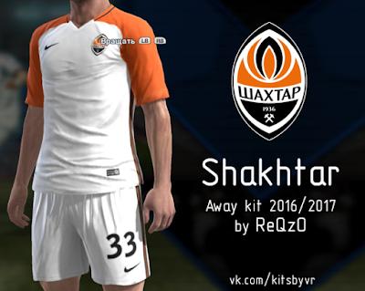 PES 2013 Shakhtar Kit Season 2016/17