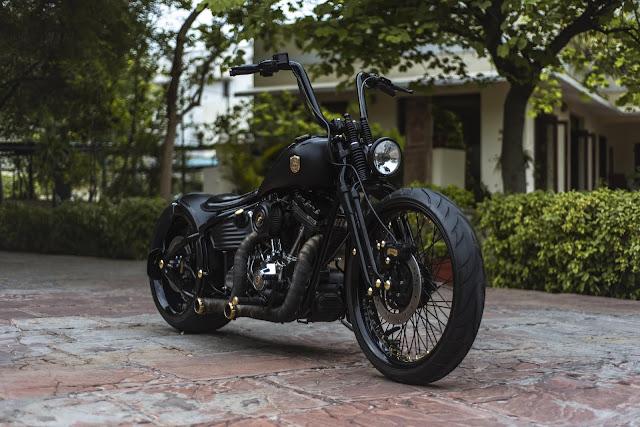Harley Davidson By Rajputana Custom Motorcycles Hell Kustom