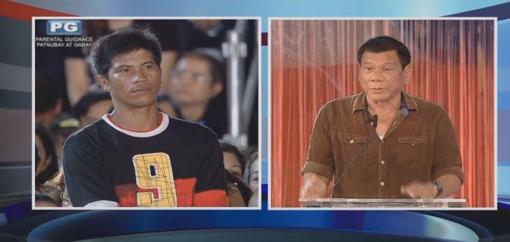 Fisherman who asked Duterte in 2016 debate says President a 'joke'