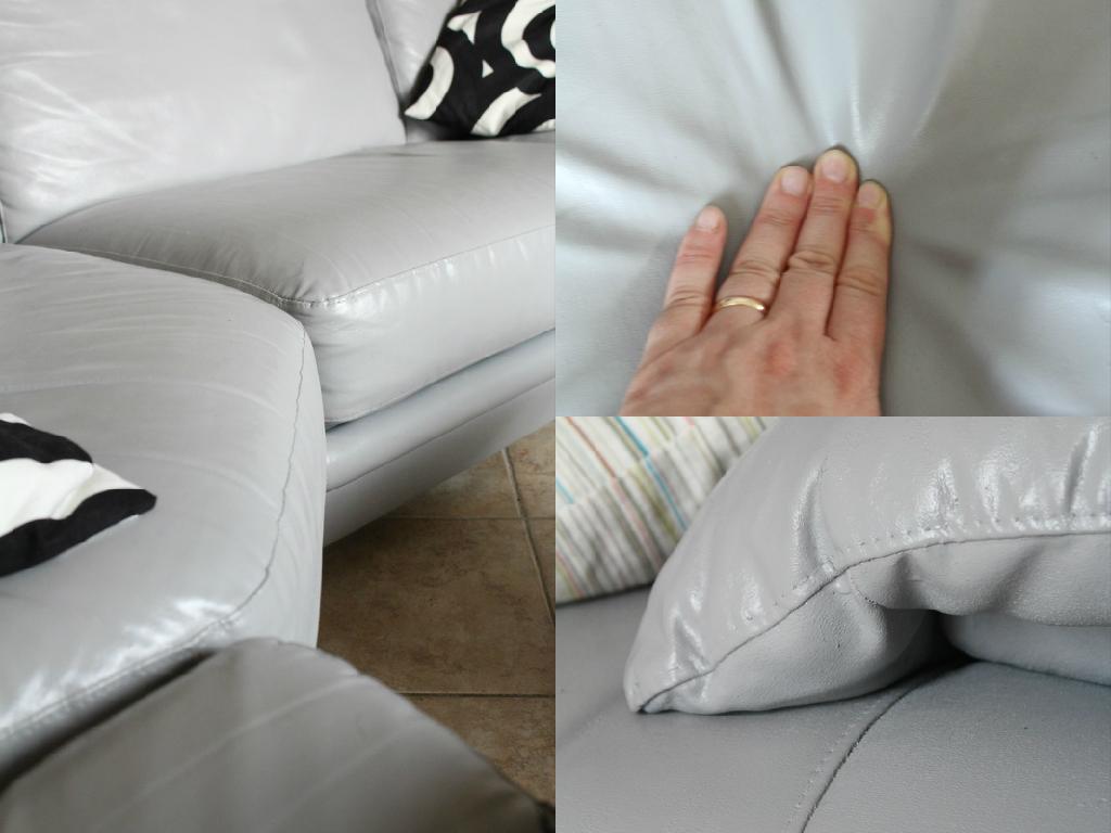 Favoloso Vivere a piedi nudi living barefoot: Come ho dipinto il mio divano  UD86