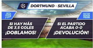 Paston promo champions Dortmund vs Sevilla 9-3-2021