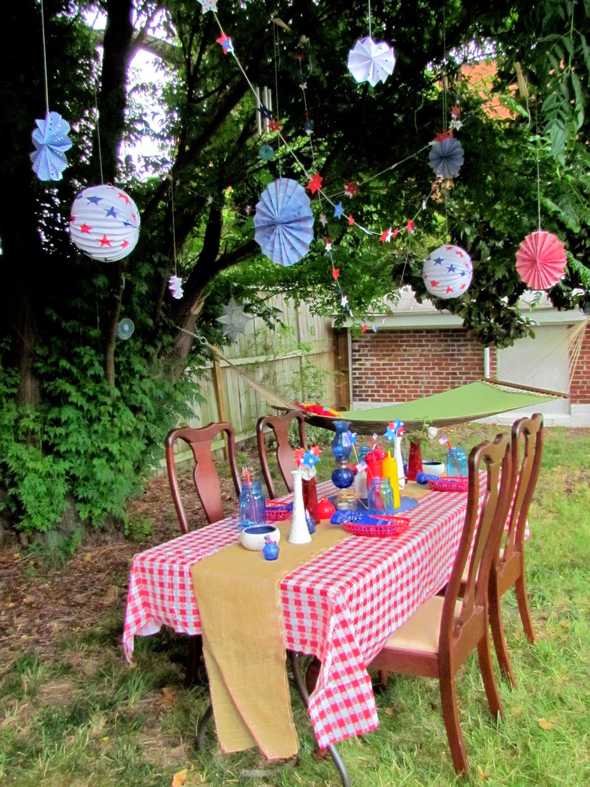 Gypsies Crafts Amp Treats Fourth Of July Bbq Tablescape
