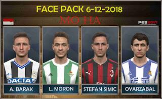 PES 2017 Facepack 6-12-2018 by Mo Ha