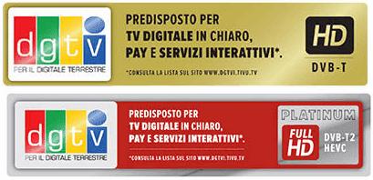 Bollini DVB-T e DVB-T2