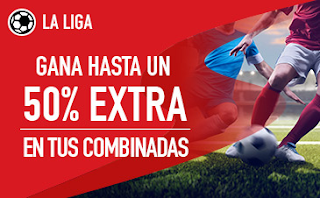 sportium promocion extra combinadas futbol jornada 17