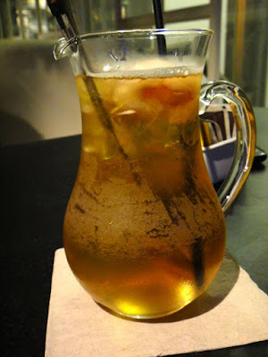 Iced Lychee Tea from Red Tomato Lippo Mall Kemang