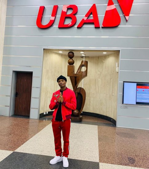 Wizkid Officially Signed The Biggest Endorsement Deal With UBA BANK as Official Brand Ambassador (See Details)