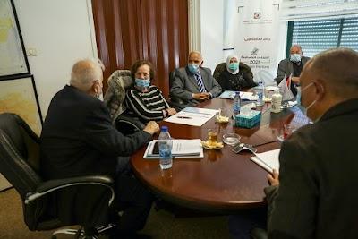 لجنة الانتخابات تجتمع وتقبل طلبات ترشح ثلاث قوائم