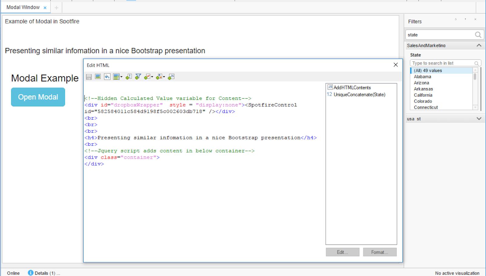 Bootstrap Modal Window