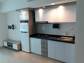 Model Kitchen Set Apartemen Studio