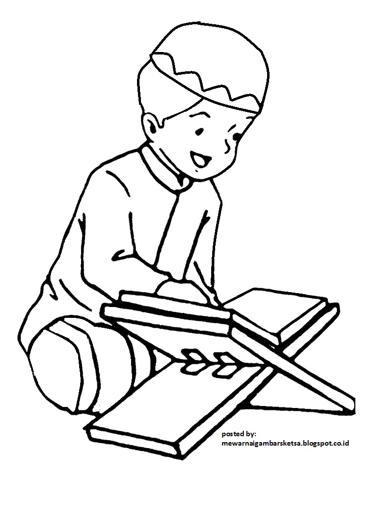 Koleksi 95  Gambar Animasi Anak Ngaji  Free Downloads