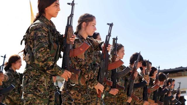 Ο Ερντογάν προσπαθεί να συνδέσει τους Antifa με τους Κούρδους της Συρίας