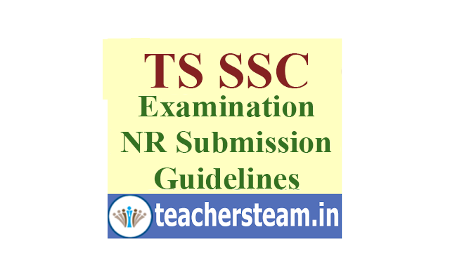 TS SSC Nominal Rolls(NRs) Submission by Head Masters Guidelines from DGE Telangana