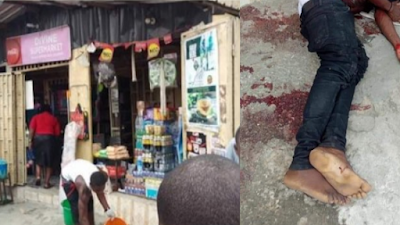 Police Engage Robbers In Gun Battle In Rivers State, Kill One, Others Escape (Graphic Photos)