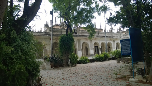 pictures or the photographs of the Paigah family tombs in hyderabad
