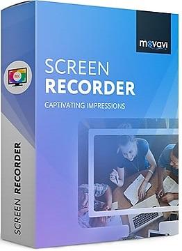 Movavi Screen Recorder 9.3.0 poster box cover