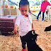 Adorable photo of Chris Brown's daughter feeding a goat