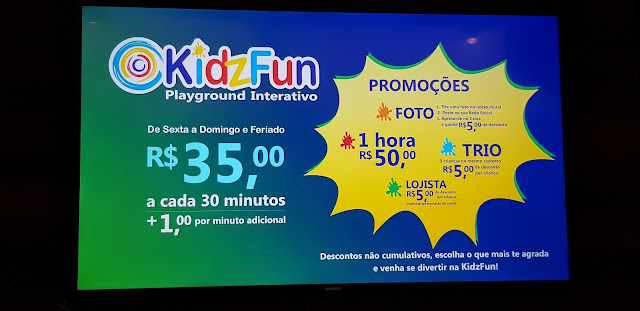 Desconto KidzFun Playground Interativo em Campinas