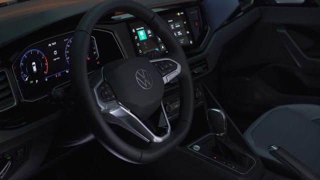 Novo Volkswagen Nivus fotos oficias do SUV compacto