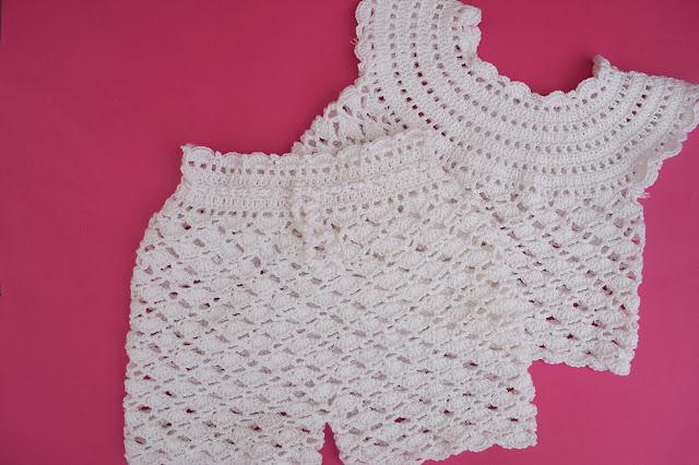 1-Crochet Imagen Pantalón a conjunto con camisa de verano a crochet y ganchillo por Majovel Crochet