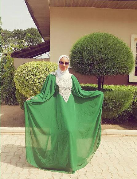 Yay or Nay? Actress Ibinabo Fiberesima steps out in hijab