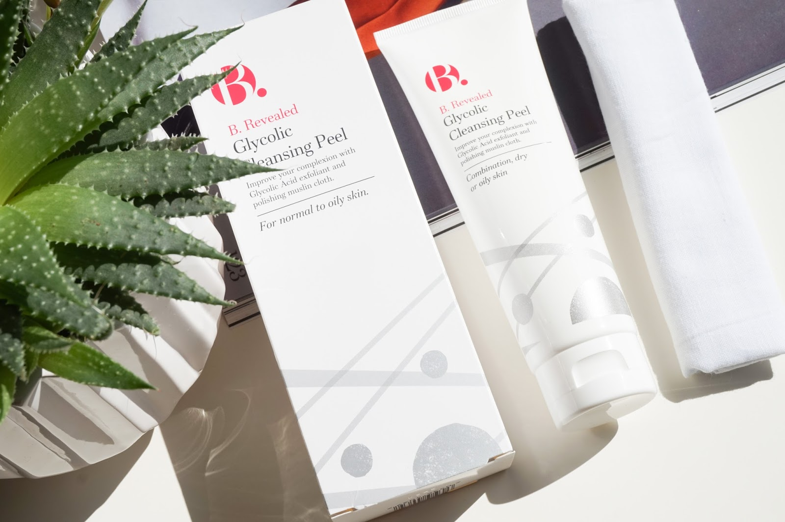 B. Revealed Glycolic Cleansing Peel By Superdrug Review